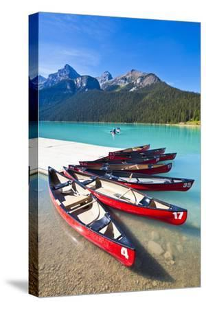 Red Canoes for Hire