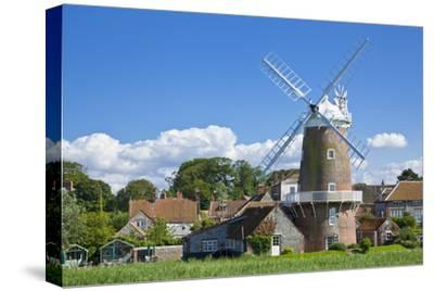 Restored 18th Century Cley Windmill, Cley Next the Sea, Norfolk, East Anglia, England, UK