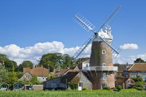 Restored 18th Century Cley Windmill, Cley Next the Sea, Norfolk, East Anglia, England, UK by Neale Clark