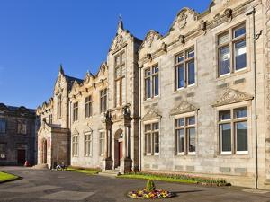 St. Salvator's Hall College Entrance by Neale Clark