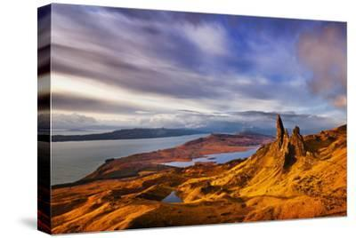 The Old Man of Storr at Dawn Sunrise