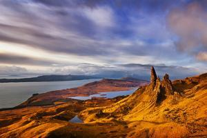 The Old Man of Storr at Dawn Sunrise by Neale Clark