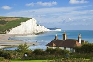 The Seven Sisters Cliffs by Neale Clark