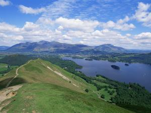 Derwent Water and Lonscale Fell from Cat Bells, Lake District National Park, Cumbria, England by Neale Clarke