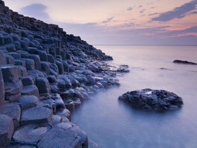 Giant's Causeway Near Bushmills, County Antrim, Ulster, Northern Ireland, UK