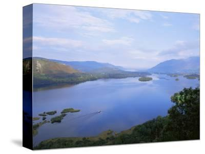 Keswick and Derwent Water from Surprise View, Lake District National Park, Cumbria, England