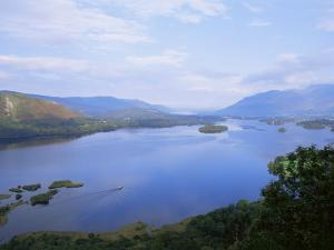 Keswick and Derwent Water from Surprise View, Lake District National Park, Cumbria, England by Neale Clarke