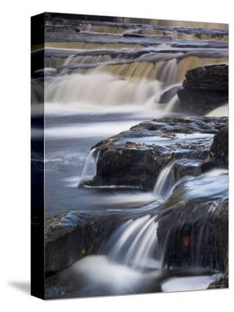 Lower Aysgarth Falls Near Hawes, Wensleydale, Yorkshire Dales National Park, Yorkshire, England, UK