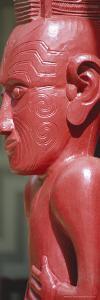 Maori Carving, Whare Runanga, Waitangi, North Island, New Zealand, Pacific by Neale Clarke