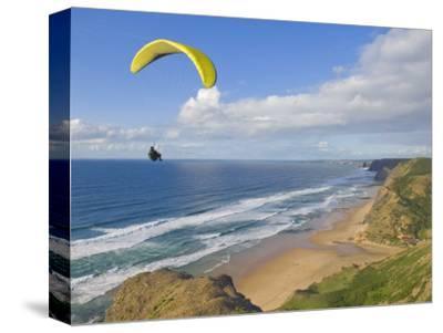 Paraglider, Costa Vincentina, Near Vila Do Bispo, Algarve, Portugal