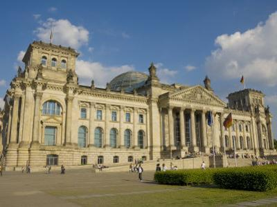 Reichstag Parliament Building, Berlin, Germany, Europe by Neale Clarke