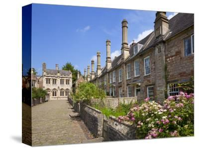 Vicar's Close, Oldest Surviving Purely Residential Street in Europe, Wells Somerset, England