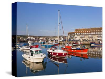 West Bay Harbour with Yachts and Fishing Boats, Bridport, UNESCO World Heritage Site, England