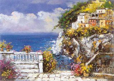 Near Amalfi-E^ Scognamiglio-Art Print