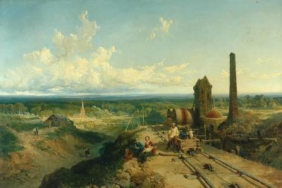 Near Atherstone-Edmund John Niemann-Giclee Print