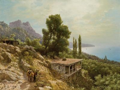 Near Ay-Petri in the Crimea, 1890-Lef Feliksovich Lagorio-Giclee Print