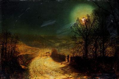 near bolton abbey 1876 giclee print by john atkinson