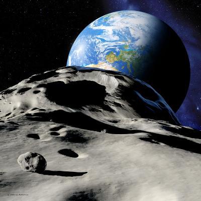 Near-Earth Asteroid-Detlev Van Ravenswaay-Photographic Print