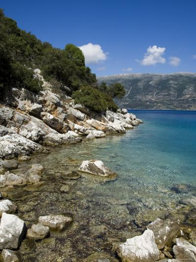Near Fiskardo on the East Coast of Kefalonia (Cephalonia), Ionian Islands, Greece, Europe-Robert Harding-Photographic Print