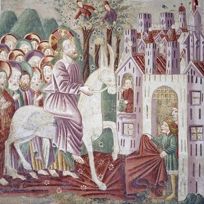 Near Pazin, Christ Entering Jerusalem--Giclee Print
