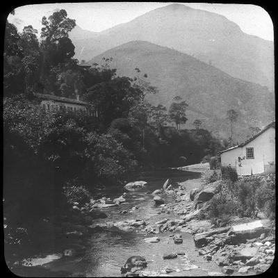 Near Petrópolis, Rio De Janeiro, Brazil, Late 19th or Early 20th Century--Photographic Print