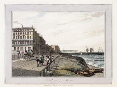 Near Regents Square, Brighton, C.1814-1825-William Daniell-Giclee Print