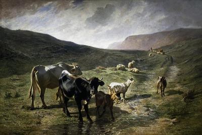 Near Rivara, 1861-Carlo Pittara-Giclee Print