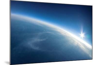 Near Space Photography - 20Km above Ground / Real Photo-dellm60-Mounted Art Print