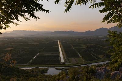near Staseviki, Dalmatia, Croatia. Agricultural landscape.--Photographic Print