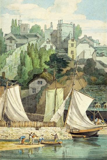 Near the Quay, Exeter-John White Abbott-Giclee Print
