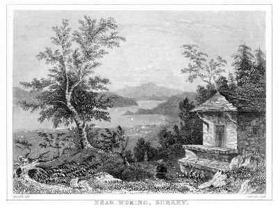Near Woking, Surrey, 19th Century- Chavan-Giclee Print