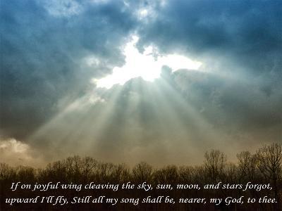 Nearer God To Thee-Veruca Salt-Art Print