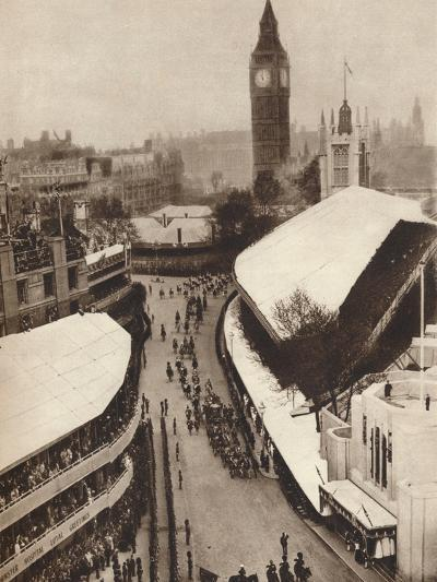 Nearing the Abbey, 1937--Photographic Print