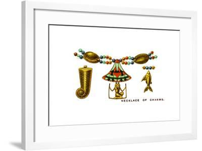 Necklace of Charms, 1923--Framed Giclee Print