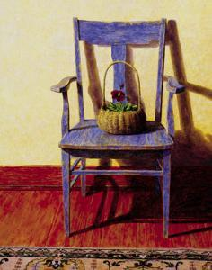 Blue Chair by Ned Young