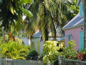Hope Town, 200 Year Old Settlement on Elbow Cay, Abaco Islands, Bahamas, Caribbean, West Indies by Nedra Westwater