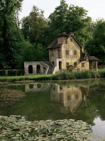 Make-Believe Mill in Marie Antoinette's Hameau, Petit Trianon, Versailles, Ile De France by Nedra Westwater