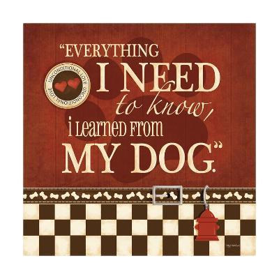 Need My Dog-Kathy Middlebrook-Art Print