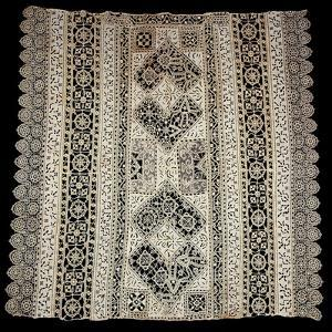 Needle, Reticella and Filet Cloth Lace, Embroidered in Cutwork