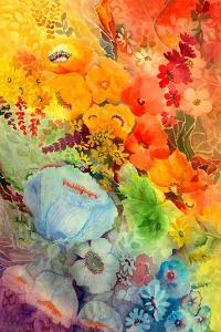 Blue Poppy by Neela Pushparaj