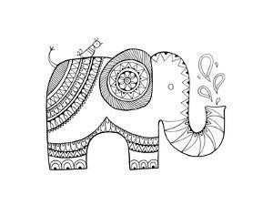 Animal Elephant 3 by Neeti Goswami