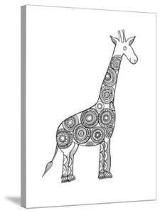 Animal Giraffe by Neeti Goswami