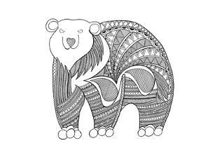 Animal Polar Bear by Neeti Goswami