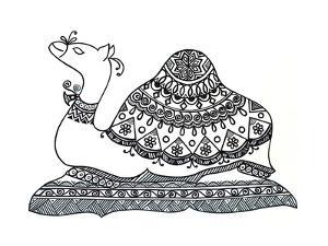Animals Camel 2 by Neeti Goswami