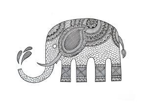 Animals Elephant 2 by Neeti Goswami