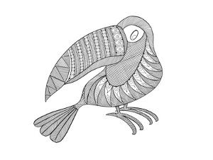 Bird Kakatua by Neeti Goswami