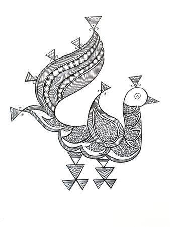 Bird Peacock 3