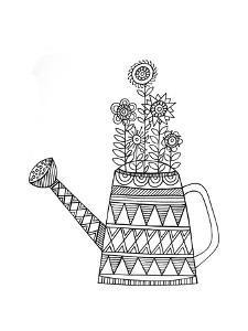 Object Wateringcan by Neeti Goswami