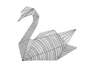 Origami 3 by Neeti Goswami