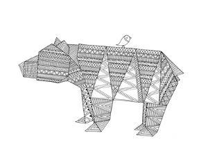 Origami 6 by Neeti Goswami